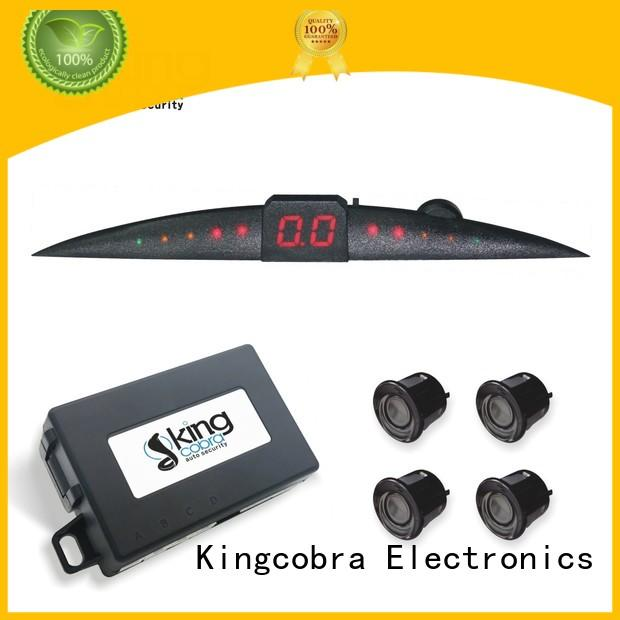 parking sensors review truck display video Kingcobra Brand company