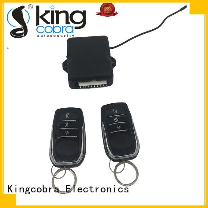 Kingcobra latest keyless entry installation with remote controllers for milano function