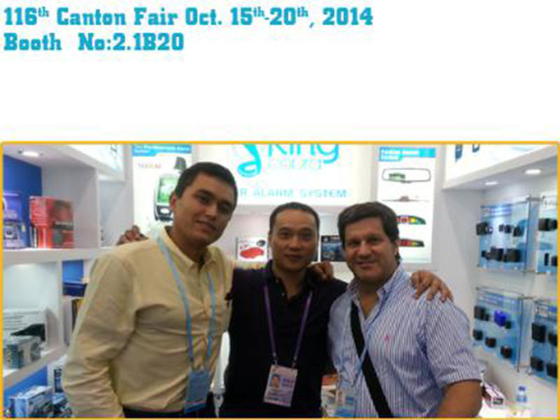 116th Canton Fair Oct.15th~20th, 2014 Booth No. 2.1B20