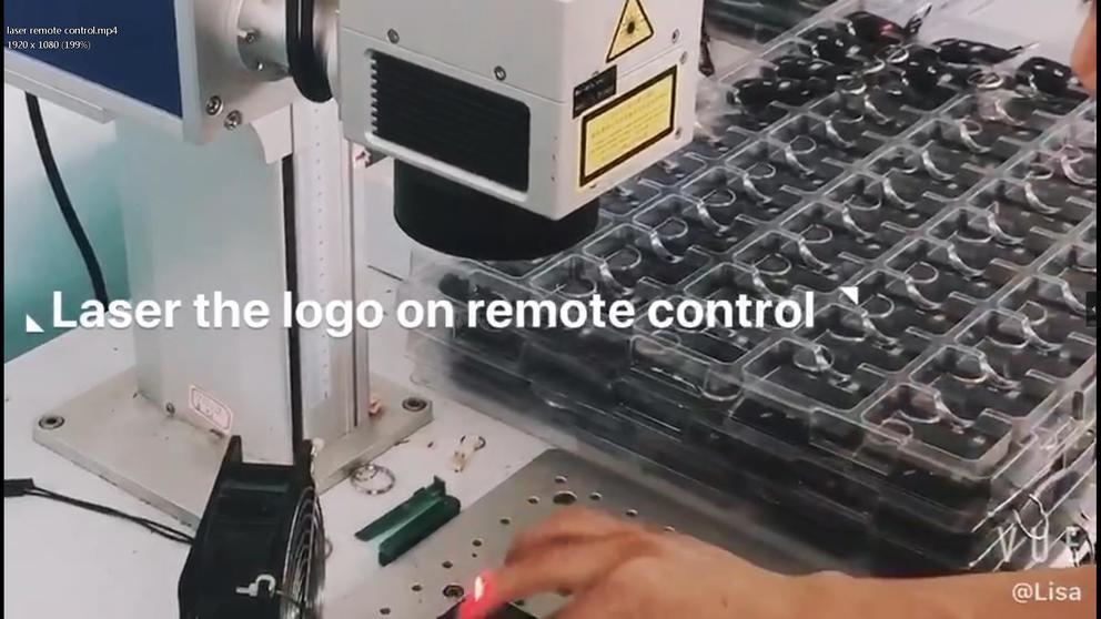 Laser remote control