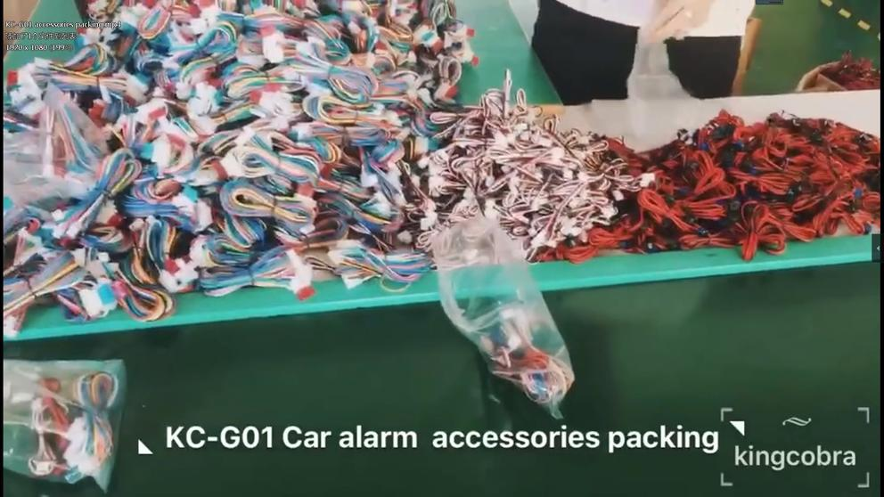 KC-G01 accessories packing