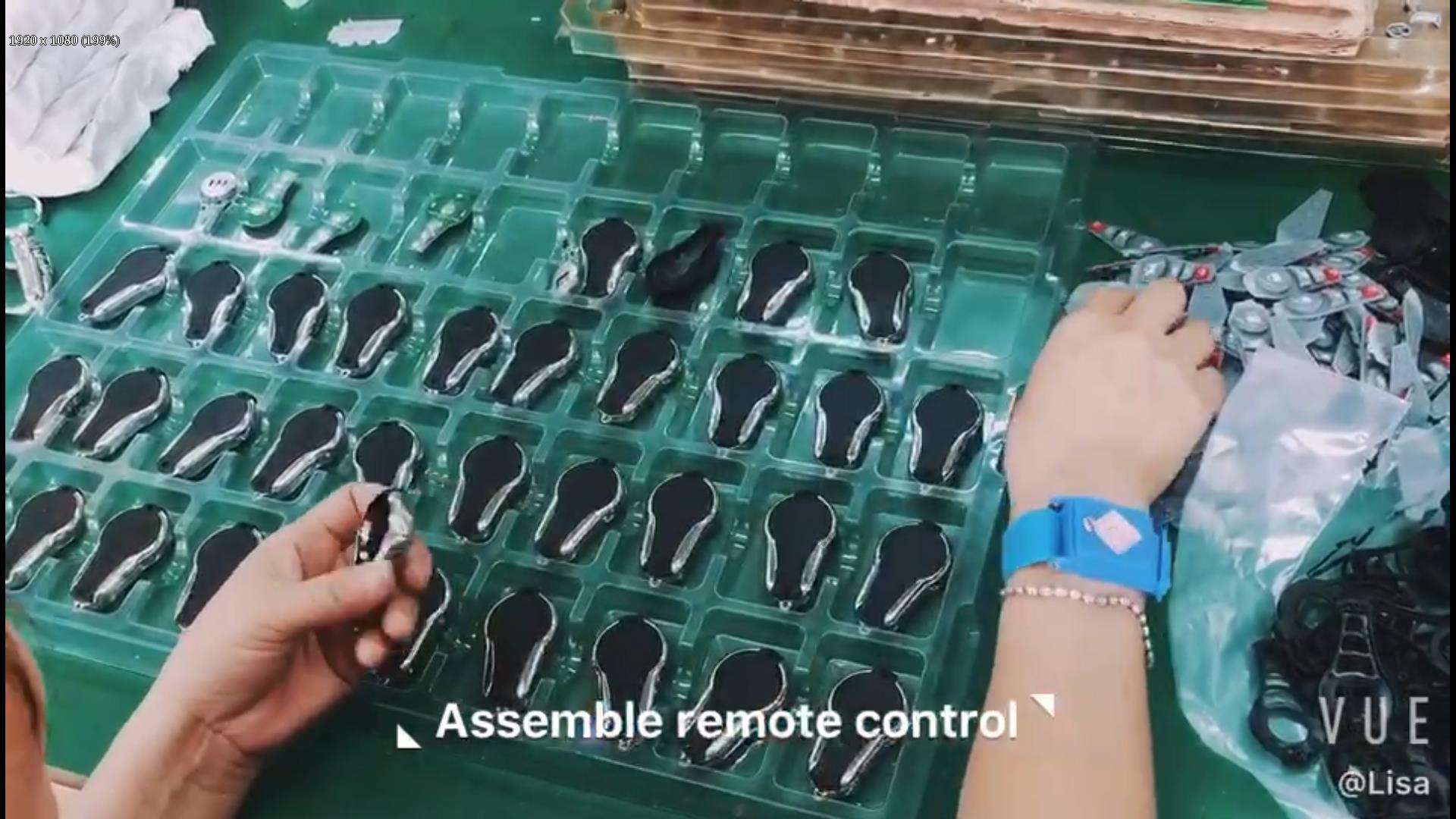Assemble remote control