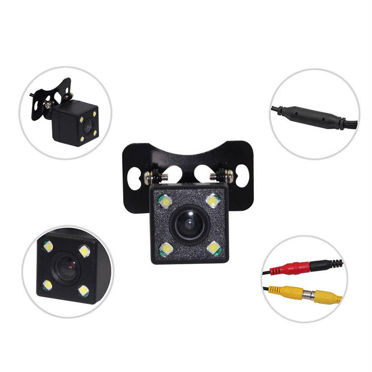 CM23-4 LED Universal HD Car Rear View Camera
