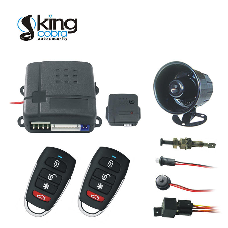 Kingcobra genius car alarm with power window output for african