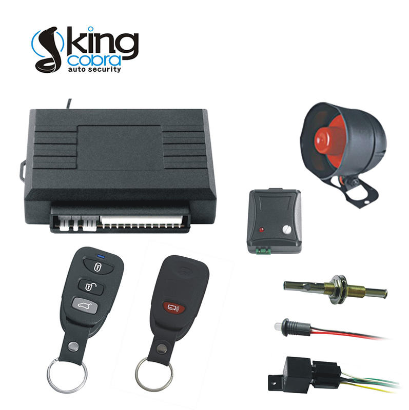 high quality car security system manufacturer for south american market Kingcobra
