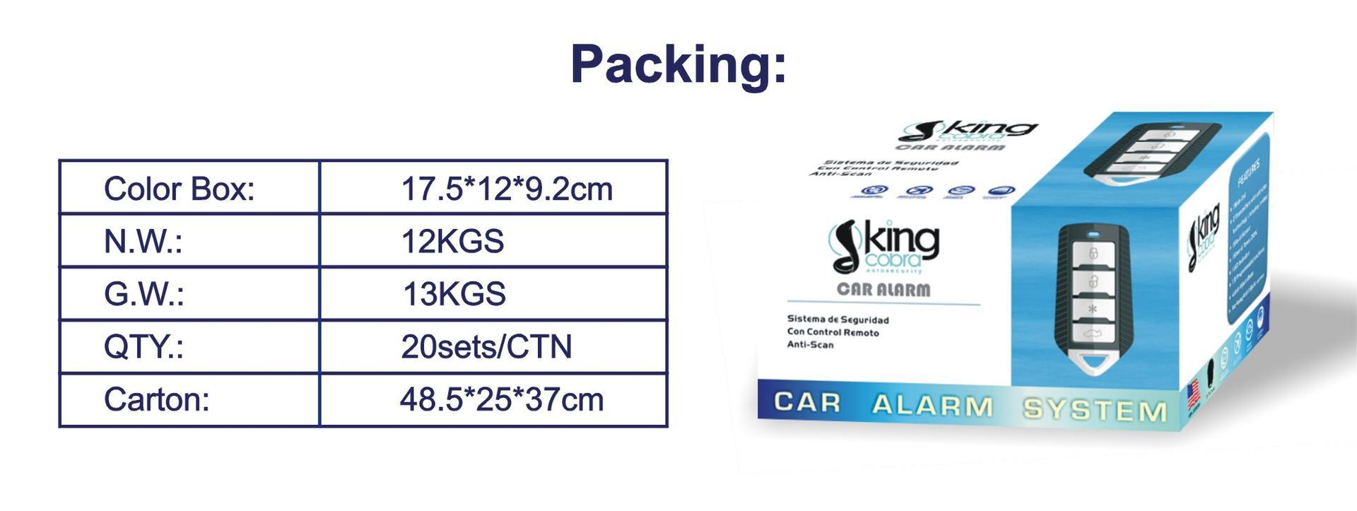hot sale prestige car alarm manufacturer for african