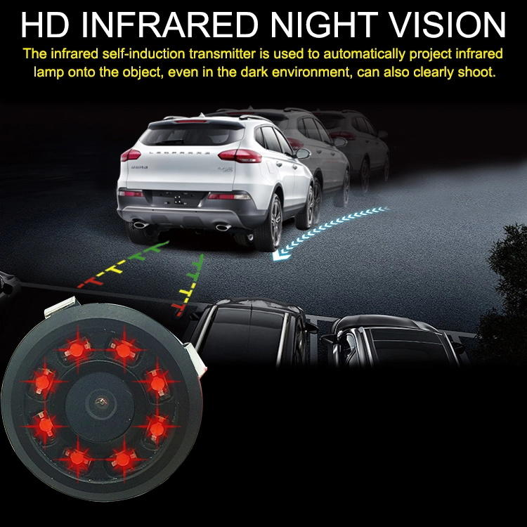 view best car camera system with pcs led for car
