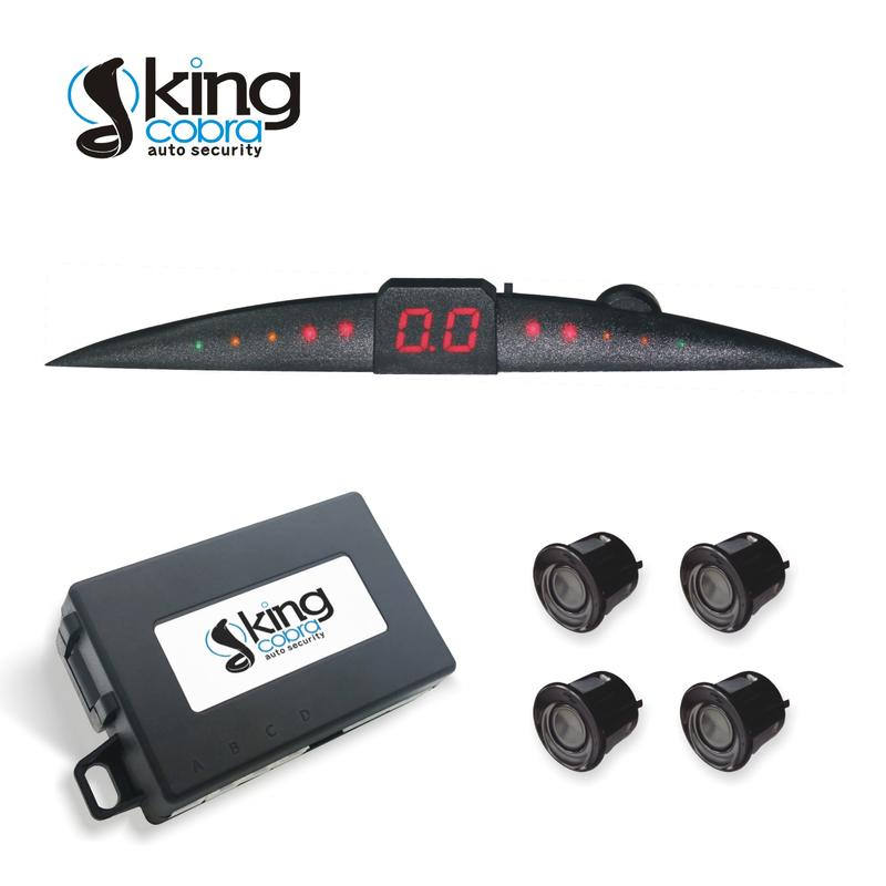 Intelligent KC-6000F Parking Sensor System