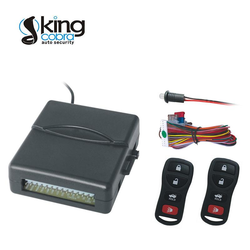 Kingcobra Brand kc5000e mfk5001 keyless entry kit manufacture