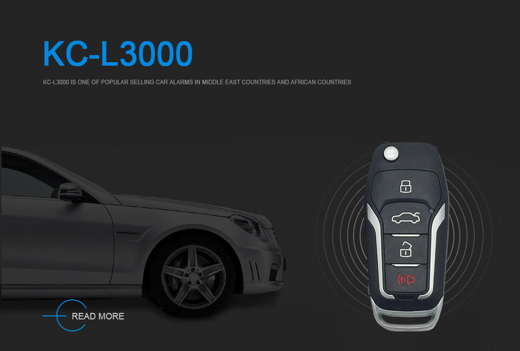 L-3000  Car Alarm System Octopus