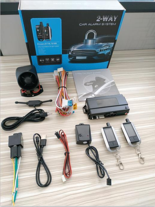 High quality two way car alarm system