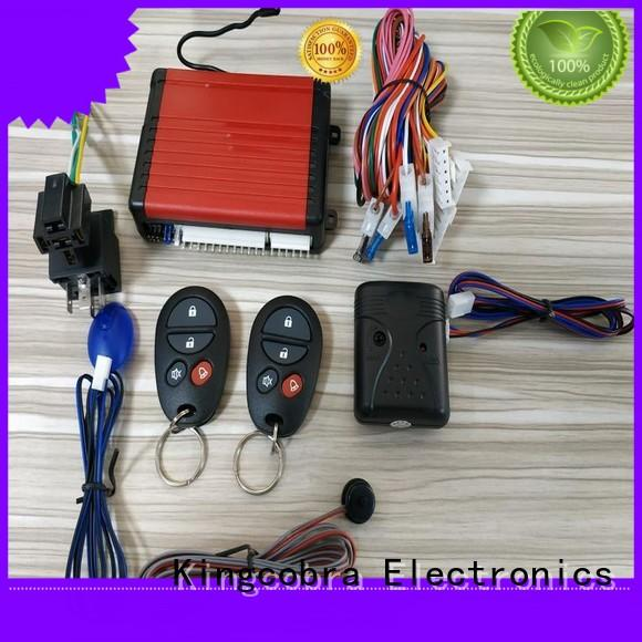 Kingcobra control car alarm system with power window output for south american