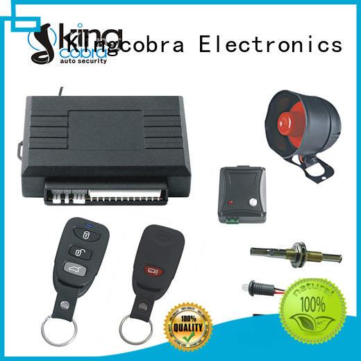 Kingcobra hot selling car security system manufacturer for sale