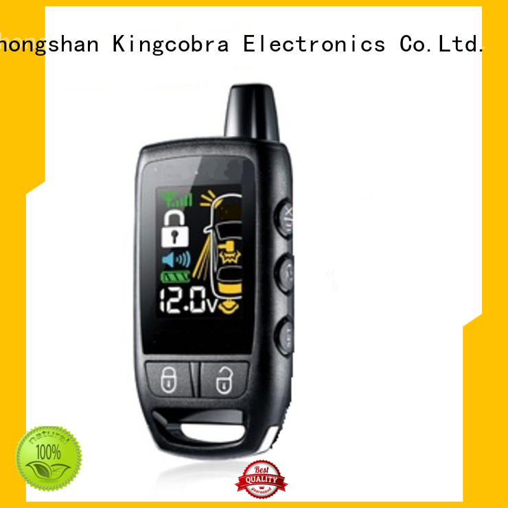 Kingcobra special 2 way car alarm long signal receive distance wholesale for sale