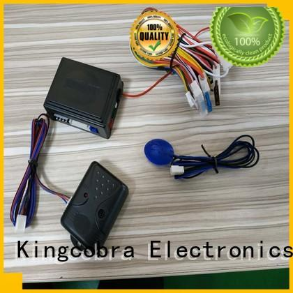 Kingcobra good selling automate car alarm with power window output for car
