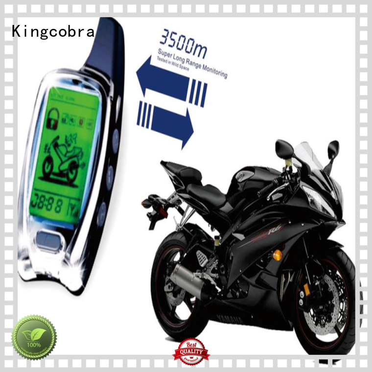 KC-803 Motorcycle two way alarm system