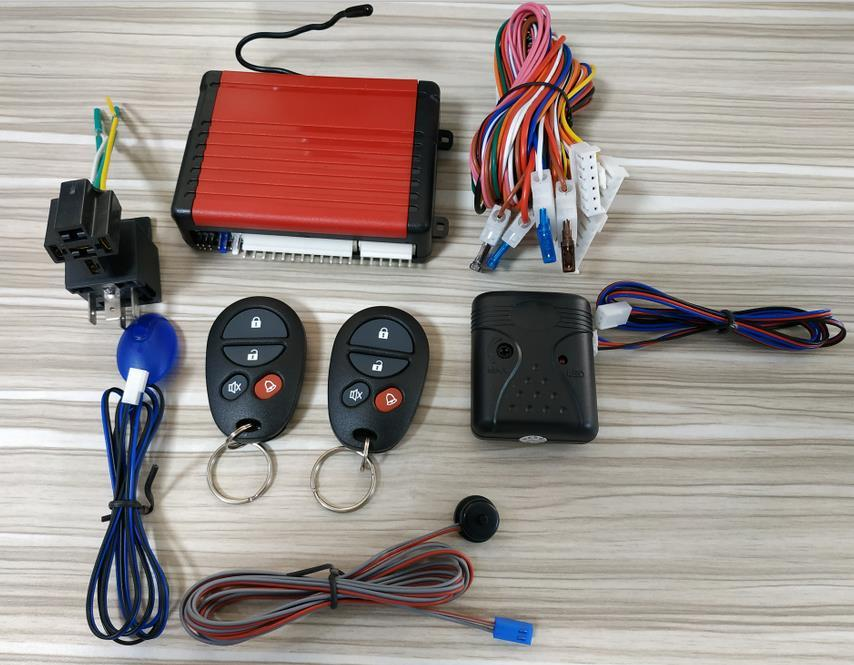 Kingcobra basic car alarm system octopus for south american-1