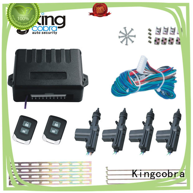 Kingcobra blue central locking kit with one master online