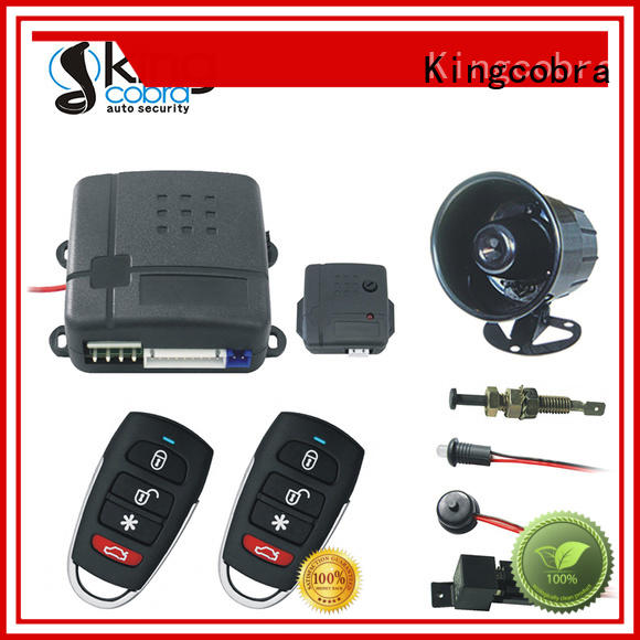 car alarm and remote start good selling for south american Kingcobra