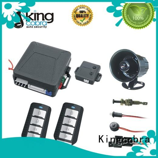 Kingcobra control best car alarm with gps tracking octopus for south american