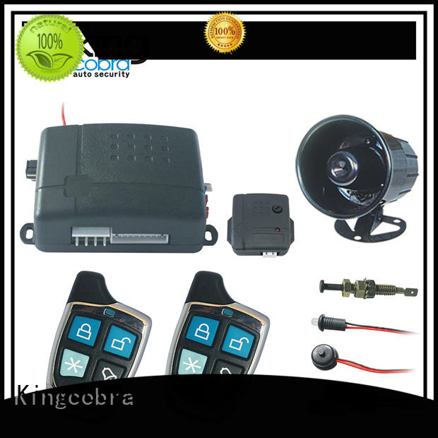 Kingcobra full functions best car alarm with gps tracking for car