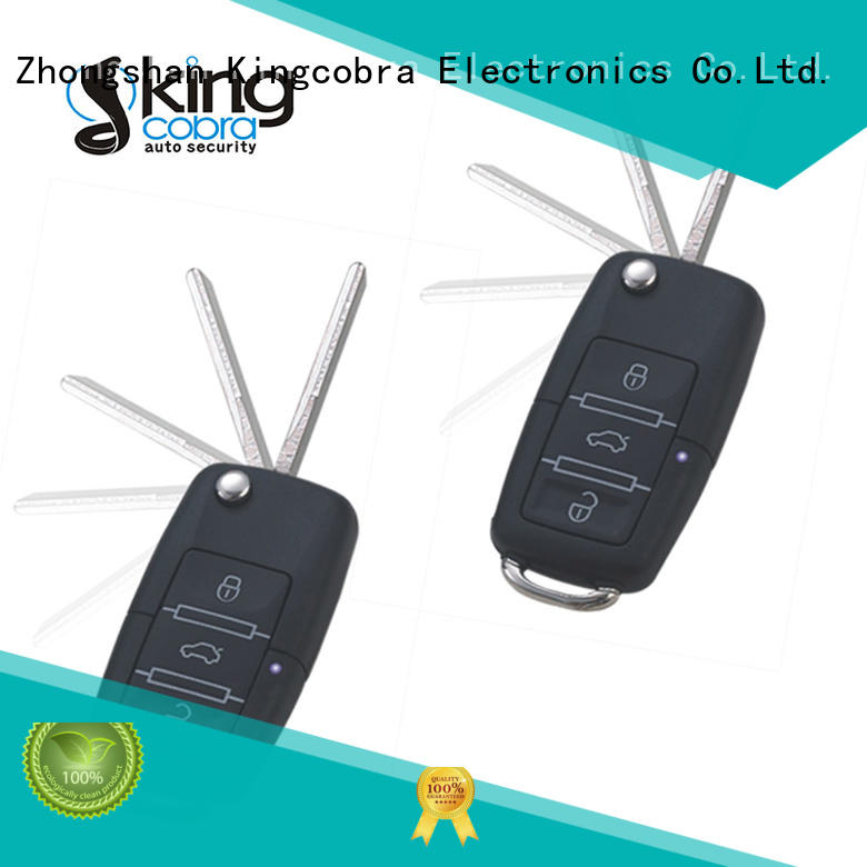 hopping keyless entry car alarm systems with remote controllers for sale