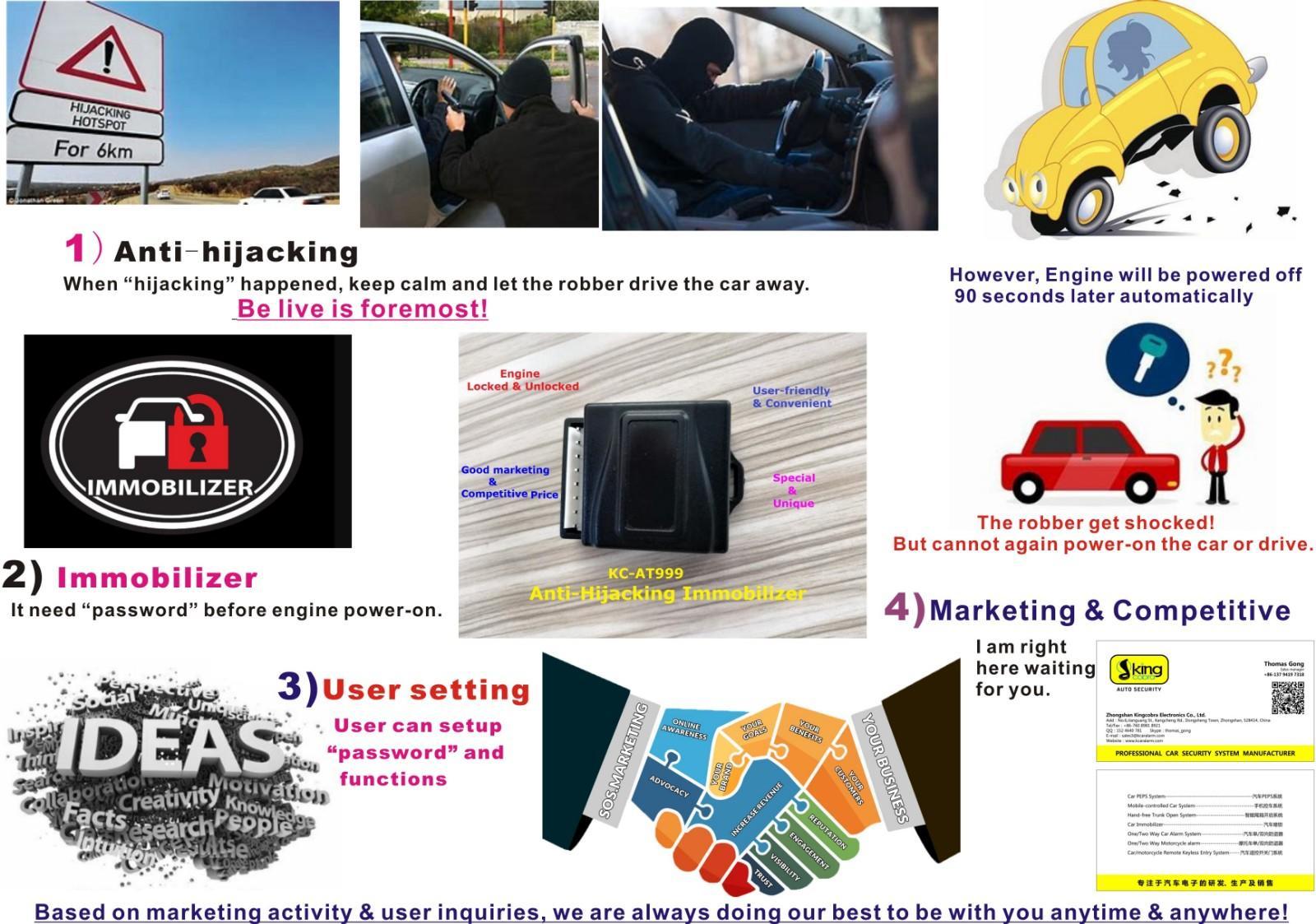 smart car immobiliser for car Kingcobra-2