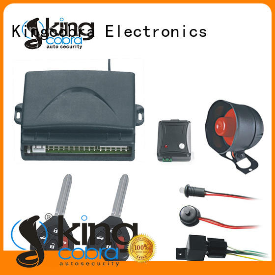 best car alarm system with power window output for south american market Kingcobra