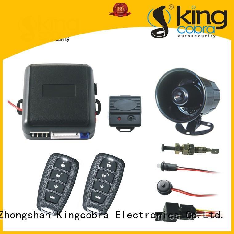 full functions genius car alarm manufacturer for car