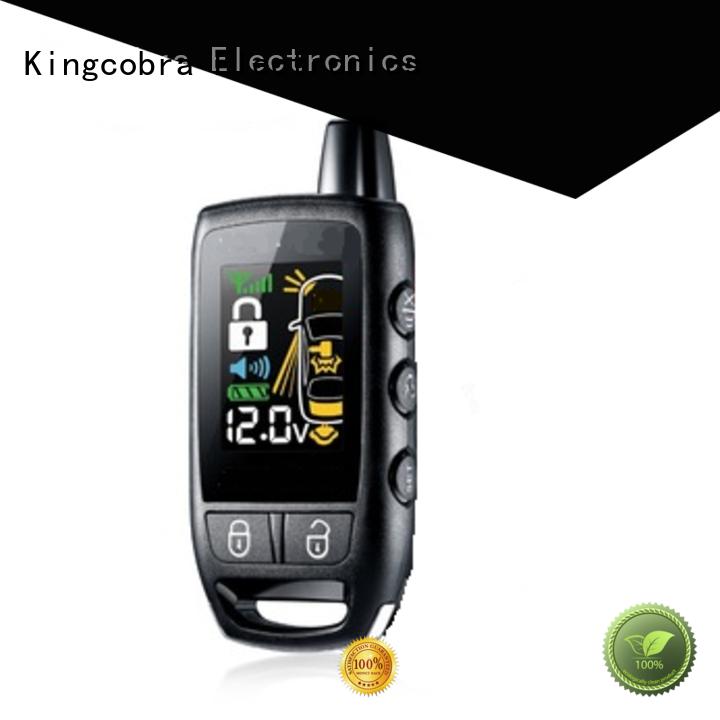 two 2 way car alarm system car for car Kingcobra
