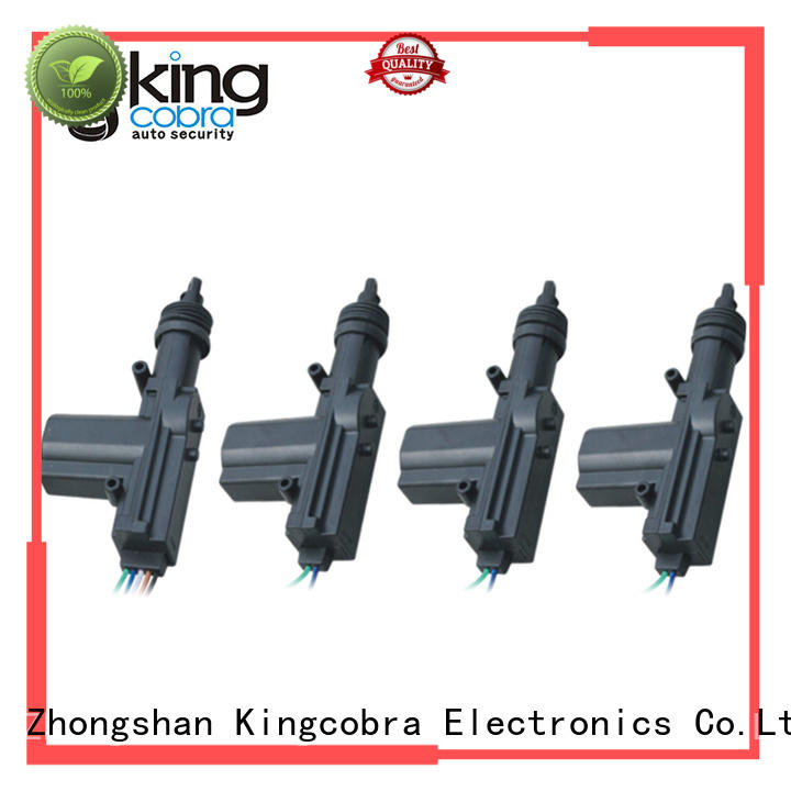 Kingcobra car central locking with two master for car