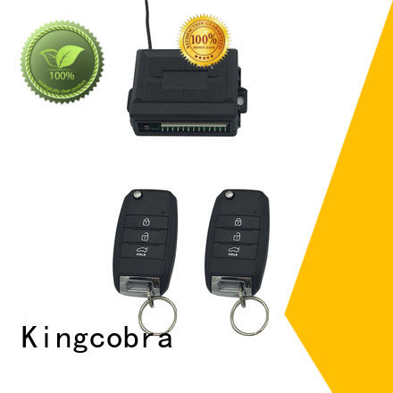 Kingcobra multi function keyless entry system installation with window rising output for sale