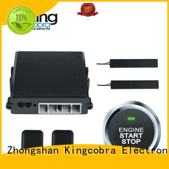 remote start for push button start start stop Kingcobra Brand pke alarm system