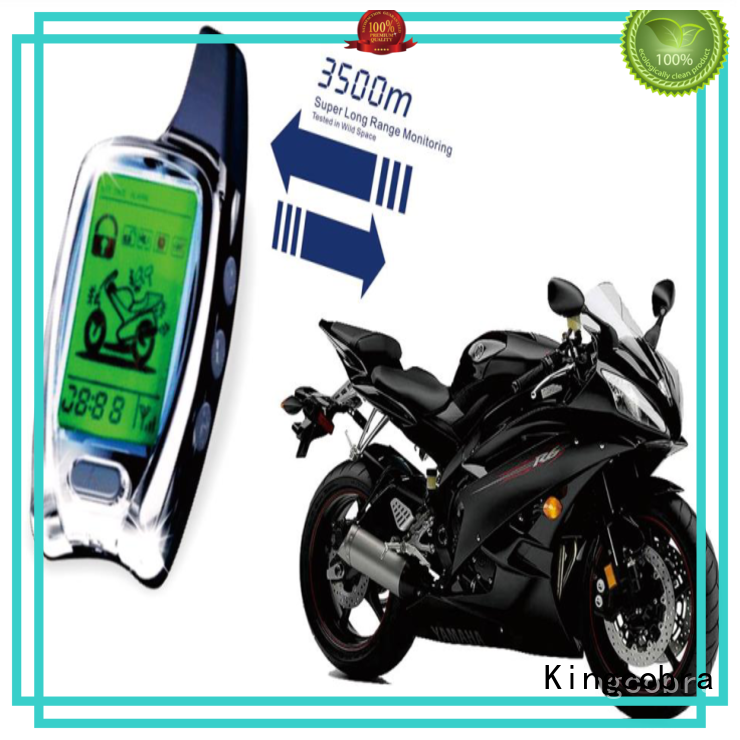 Kingcobra motorcycle alarm system supply for car