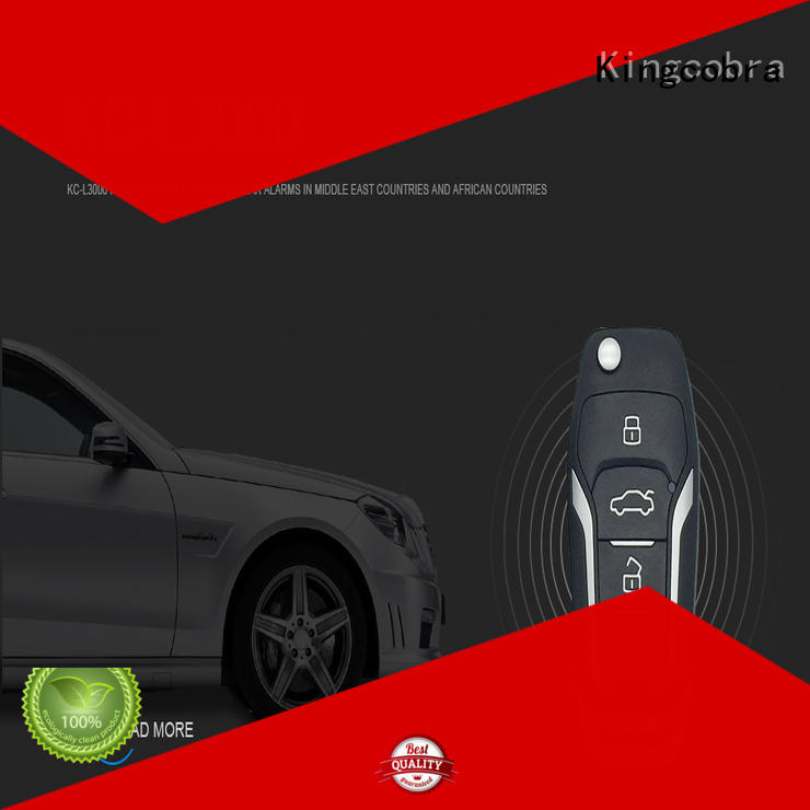 best car alarm system with remote start selling function Warranty Kingcobra
