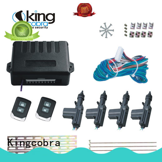 Kingcobra new what is central locking system with two master for car