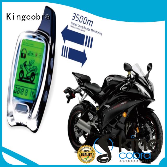 Kingcobra professional motorcycle alarm latest online