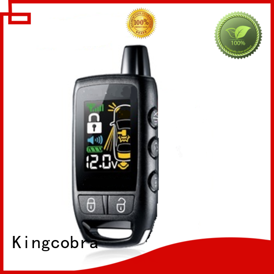 two way car alarm long signal receive distance wholesale for sale Kingcobra