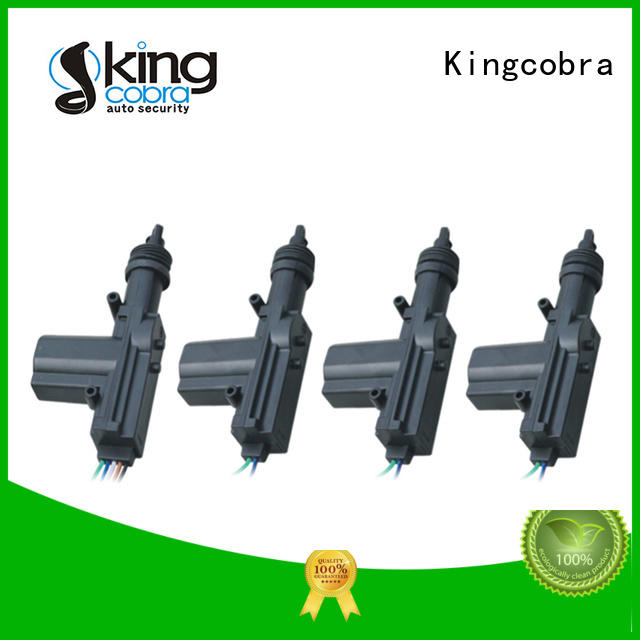 KC-600A2 Central Locking System (black color with 2 masters)