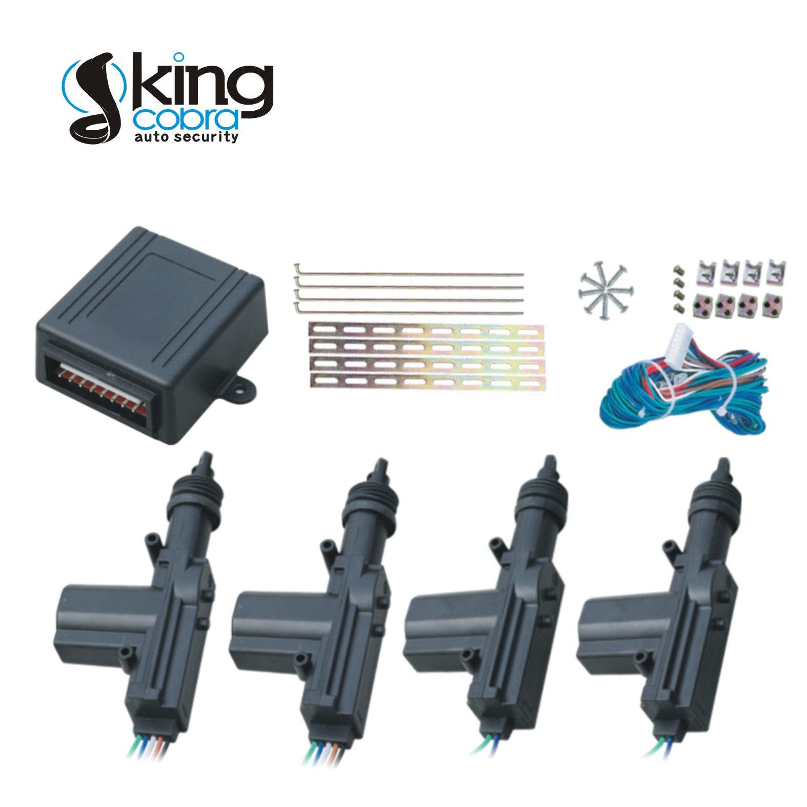 KC-600A2 Central Locking System (black color with 2 masters)-3