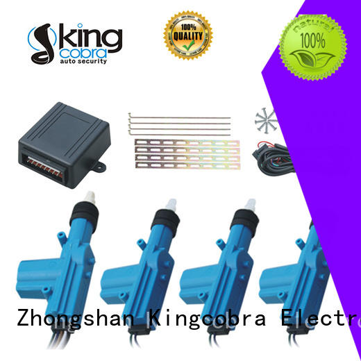 Kingcobra central locking system with one master for car