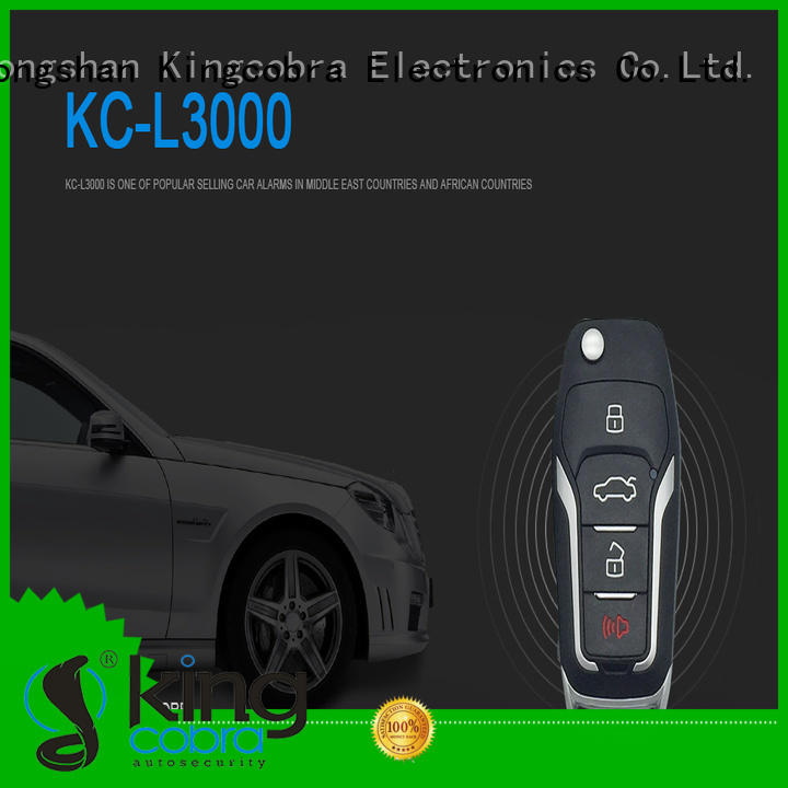 car alarm and remote start hot sale for african Kingcobra