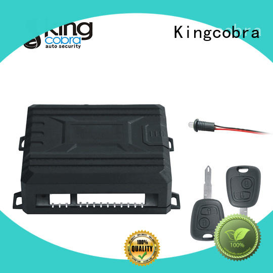 Kingcobra full functions keyless entry system with window rising output for business
