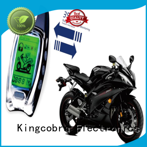 Kingcobra professional motorcycle alarm system supplier for car