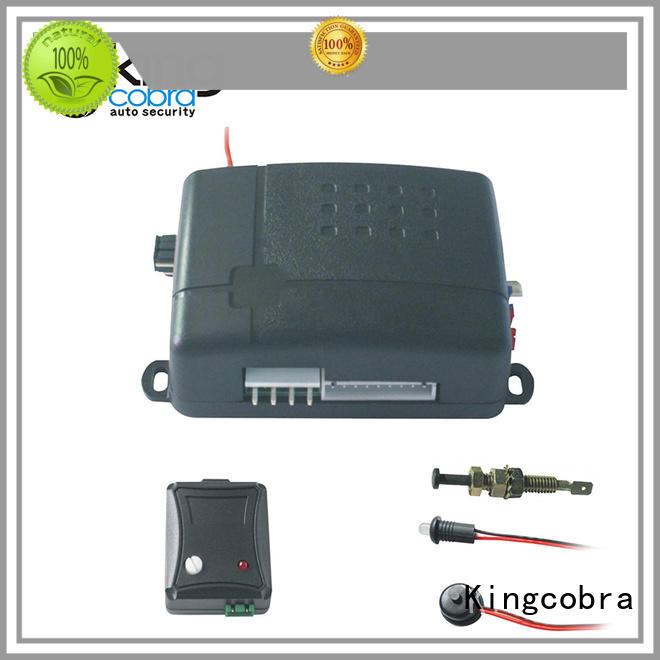 Kingcobra popular custom car alarms supplier for south american