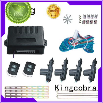 best car central locking kit with two master for car Kingcobra