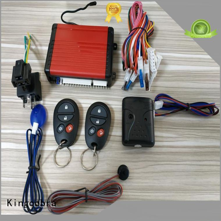 Kingcobra basic car alarm system octopus for south american