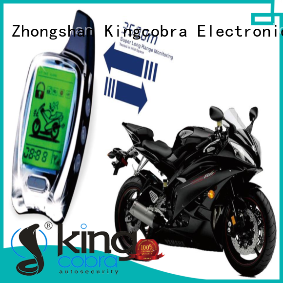 wireless motorcycle alarm way Kingcobra Brand motorcycle alarm system with gps