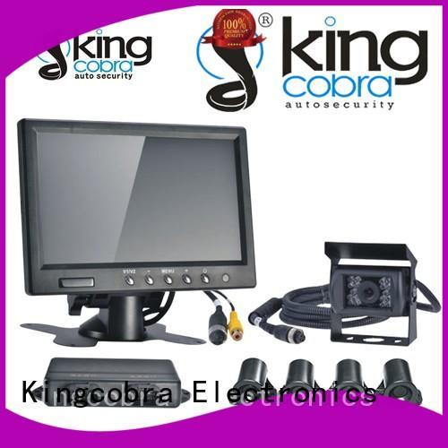 Kingcobra mirror mini parking sensors good selling for car