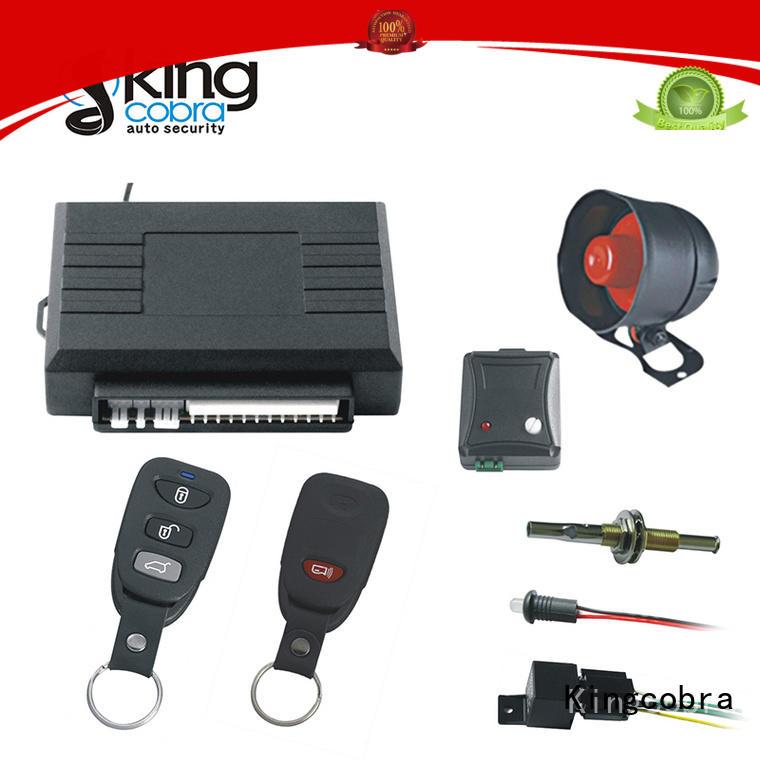 Kingcobra hand free car security system maker for genius nemesis